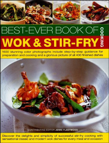 9781572155404: BEST-EVER BOOK OF WOK AND STIR-FRY COOKING
