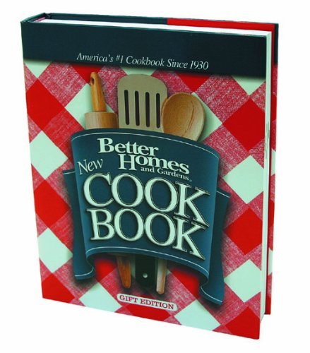 9781572156241: BETTER HOMES AND GARDENS: NEW COOKBOOK GIFT EDITION
