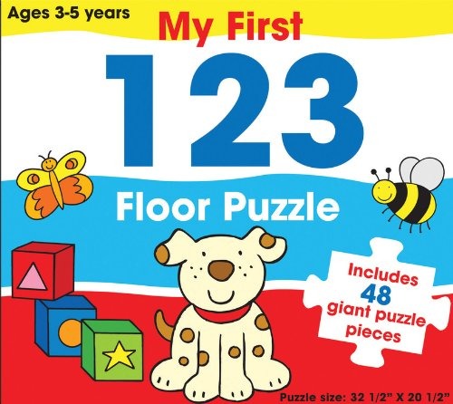 9781572156739: My First 123 Floor Puzzle: Includes 48 Giant Puzzle Pieces (My First Floor Puzzle)