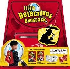 BACKPACK: MY LITTLE BACKPACK - LITTLE DETECTIVES: Edited