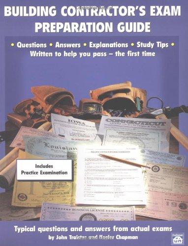 9781572180307: Building Contractor's Exam Preparation Guide
