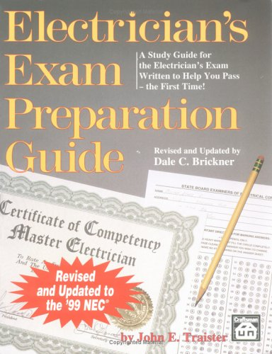 9781572180772: Electrician's Exam Preparation Guide: Based on the 1999 NEC