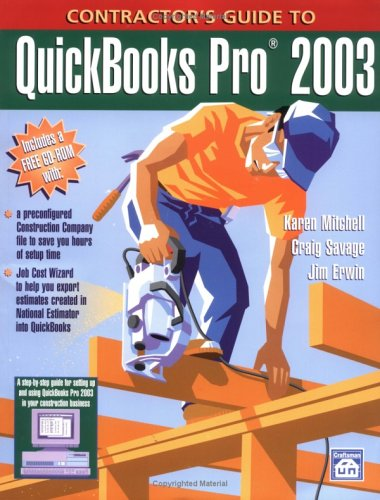 9781572181304: Contractor's Guide to Quickbooks Pro 2003