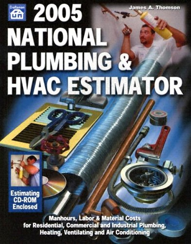 9781572181458 national plumbing hvac estimator with cdrom national plumbing hvac estimator - Hvac Estimator