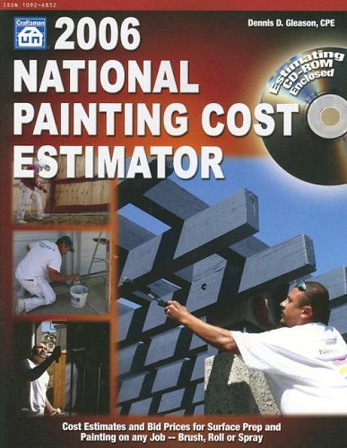 9781572181625: 2006 National Painting Cost Estimator