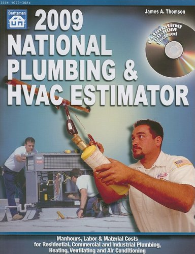 9781572182141 national plumbing hvac estimator with cdrom national plumbing hvac - Hvac Estimator
