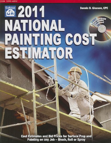 9781572182479: National Painting Cost Estimator 2011 (National Painting Cost Estimator (W/CD))