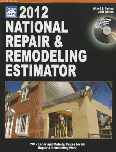9781572182639: National Repair and Remodeling Estimator 2012 (National Repair & Remodeling Estimator (W/CD))