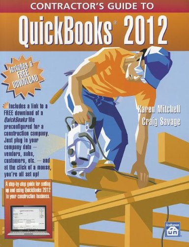 9781572182721: Contractor's Guide to Quickbooks 2012