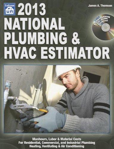 9781572182837: National Plumbing & Hvac Estimator [With Cdrom