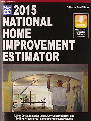 9781572183087: National Home Improvement Estimator 2015