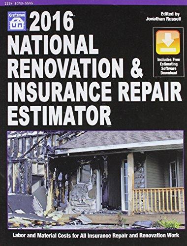 9781572183216: National Renovation & Insurance Repair Estimator 2016 (National Renovation and Insurance Repair Estimator)