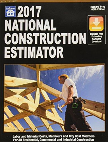 9781572183254: National Construction Estimator 2017 (Craftsmen)