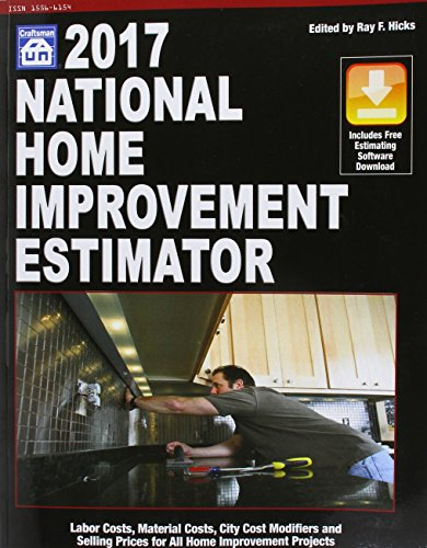 National Home Improvement Estimator 2017 By Ray F Hicks