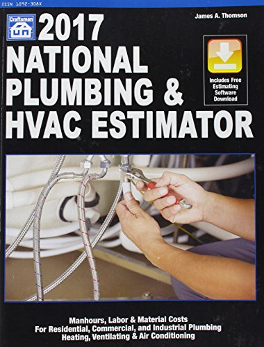 9781572183292: National Plumbing & Hvac Estimator 2017 (National