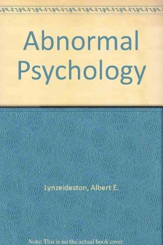 9781572222175: Abnormal Psychology