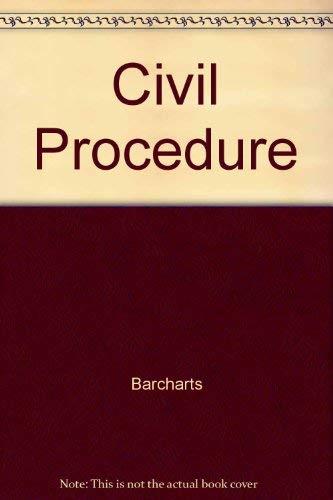 9781572223905: Civil Procedure