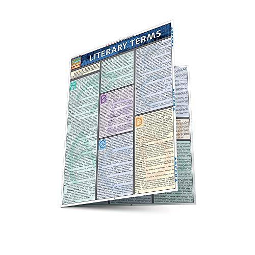 Literary Terms (Quickstudy Reference Guides - Academic): Lisa Drucker Kaaren