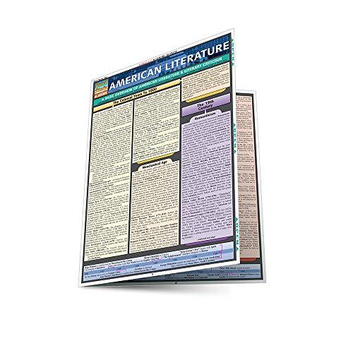 American Literature (Quickstudy Reference Guides - Academic): Lisa Drucker Kaaren