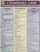 9781572226852: Criminal Law (Quickstudy: Law)