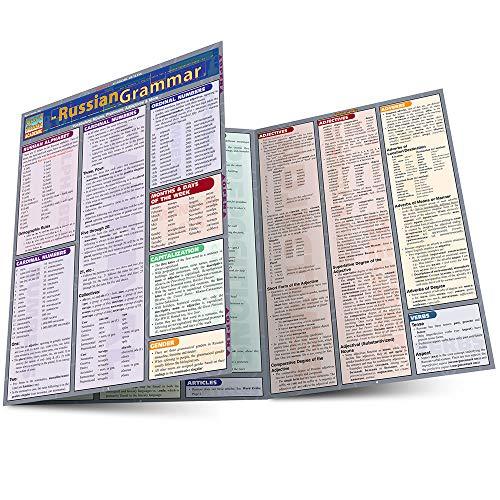 9781572226982: Russian Grammar Laminate Reference Chart (Quickstudy: Academic)