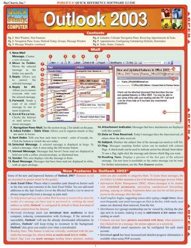9781572227972: Outlook 2003 (Quickstudy: Computer)