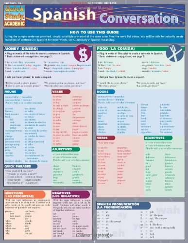 Spanish Conversation, Quick Reference Guide (Quick Study: Liliane Arnet