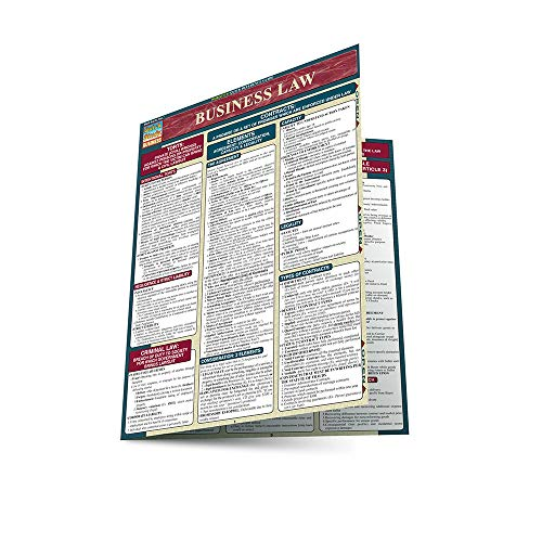 Business Law 2005 Update Laminate Reference Chart