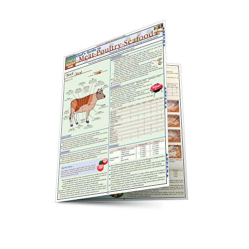 Chef'S Guide To Meat-Poultry- Seafood (Quickstudy: Home): BarCharts, Inc.