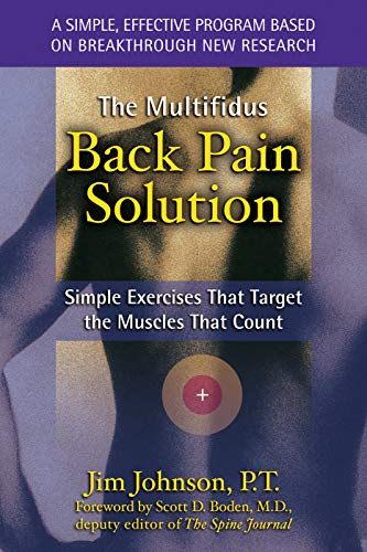 9781572242784: The Multifidus Back Pain Solution: Simple Exercises That Target the Muscles That Count