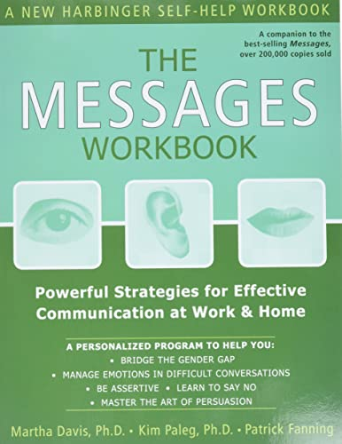 9781572243712: The Messages Workbook: Powerful Strategies for Effective Communication at Work and Home
