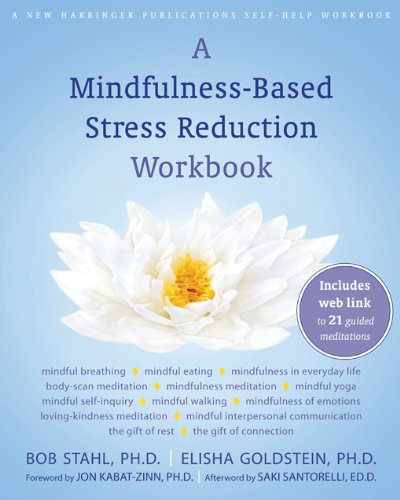 9781572248274: A Mindfulness-Based Stress Reduction Workbook (A New Harbinger Self-Help Workbook)