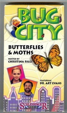 9781572251199: Bug City:Butterflies & Moths [VHS]