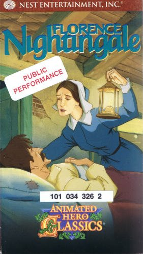 9781572251670: Florence Nightingale: Animated Hero Classics [VHS]