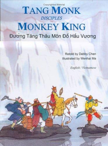 Tang Monk Disciples Monkey King: English/Vietnamese (Adventures: Retold by Debby