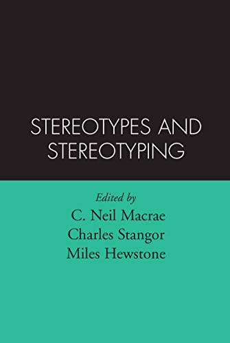 Stereotypes and Stereotyping