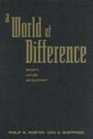 9781572300712: A World of Difference: Society, Nature, Development