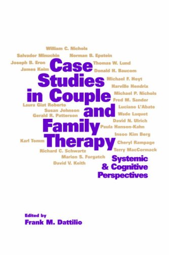 9781572302976: Case Studies in Couple and Family Therapy: Systemic and Cognitive Perspectives (The Guilford Family Therapy)