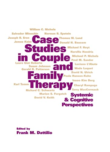 9781572302976: Case Studies in Couple and Family Therapy: Systemic and Cognitive Perspectives