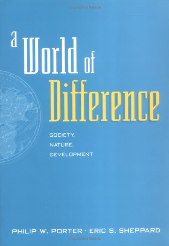 9781572303249: A World of Difference: Society, Nature, Development