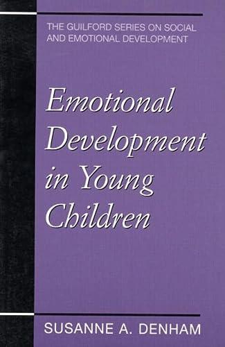 9781572303607: Emotional Development in Young Children