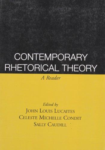 9781572304017: Contemporary Rhetorical Theory: A Reader