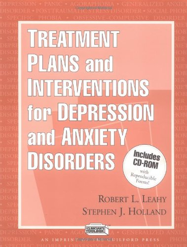 9781572305144: Treatment Plans and Interventions for Depression and Anxiety Disorders