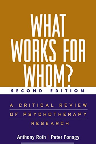 9781572306509: What Works for Whom? Second Edition: A Critical Review of Psychotherapy Research