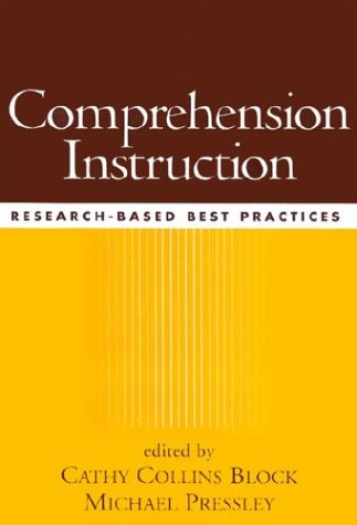 9781572306929: Comprehension Instruction: Research-Based Best Practices