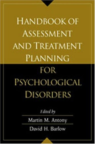 9781572307032: Handbook of Assessment and Treatment Planning for Psychological Disorders