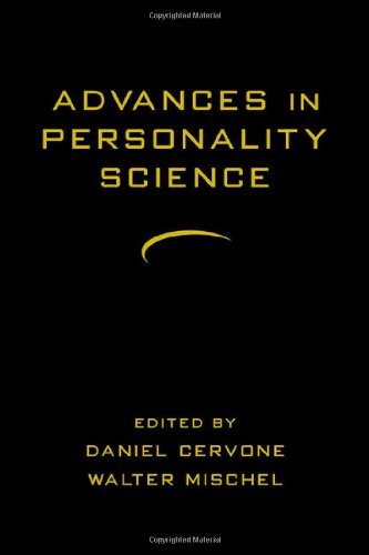 9781572307377: Advances in Personality Science