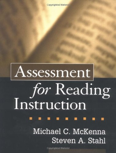 9781572308671: Assessment for Reading Instruction (Solving Problems in the Teaching of Literacy)