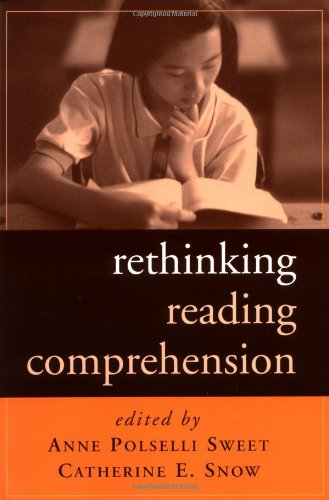 9781572308923: Rethinking Reading Comprehension (Solving Problems in the Teaching of Literacy)