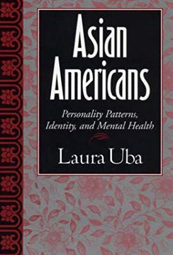 9781572309128: Asian Americans: Personality Patterns, Identity, and Mental Health